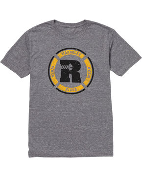 Wrangler Men's Grey RIGGS Workwear Graphic Tee , Grey, hi-res