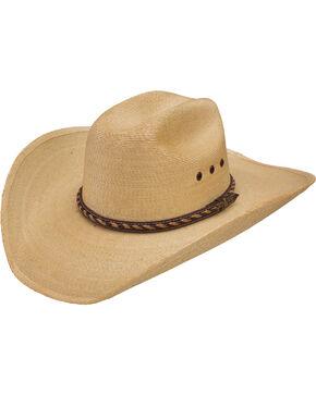 Resistol Men's Jason Aldean Wheels Rollin' Cowboy Hat , Rust Copper, hi-res