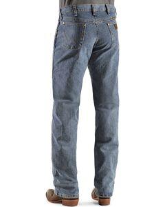 Wrangler Premium Performance Advanced Comfort Mid Tint Jeans - Big & Tall, Dark Denim, hi-res