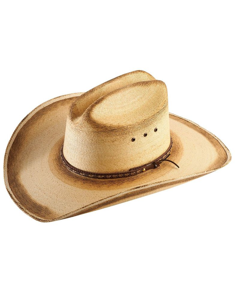 Jason Aldean Georgia Boy Palm Leaf Cowboy Hat , Natural, hi-res