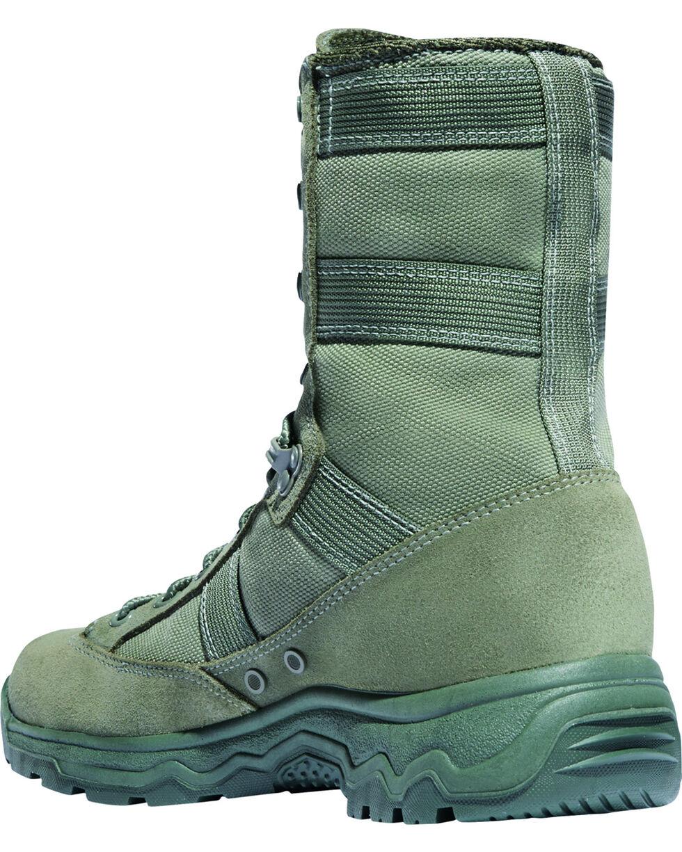 """Danner Men's Sage Hot 8"""" Reckoning Tactical Boots - Round Toe, Olive, hi-res"""