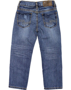Silver Jeans Boys' Benny Straight Leg Jeans, Blue, hi-res