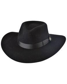 Bullhide Women's Black Street Gossip Western Wool Hat , Black, hi-res