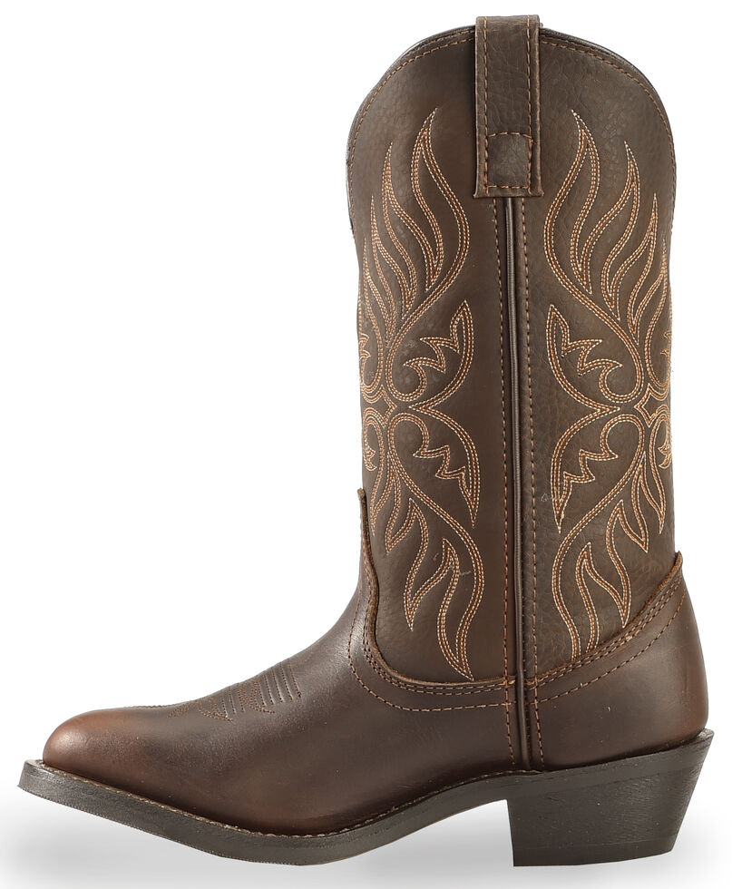 Laredo Women's Kelli Cowgirl Boots - Medium Toe, Chocolate, hi-res