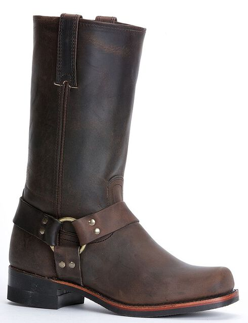 Frye Men's Harness Engineer 12R Boots - Square Toe, Gaucho, hi-res