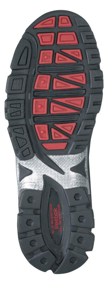 Reebok Men's Ketia Athletic Oxford Work Shoes - Composite Toe, Black, hi-res