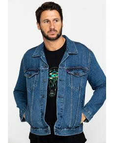 Levi's Men's Snapback Trucker Jacket , Indigo, hi-res