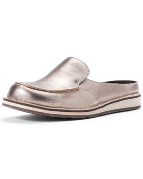 Ariat Women's Rose Gold Cruiser Shoes - Moc Toe, Brown, hi-res