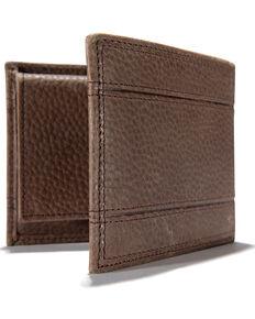 Carhartt Men's Brown Workwear Passcase Wallet, Brown, hi-res