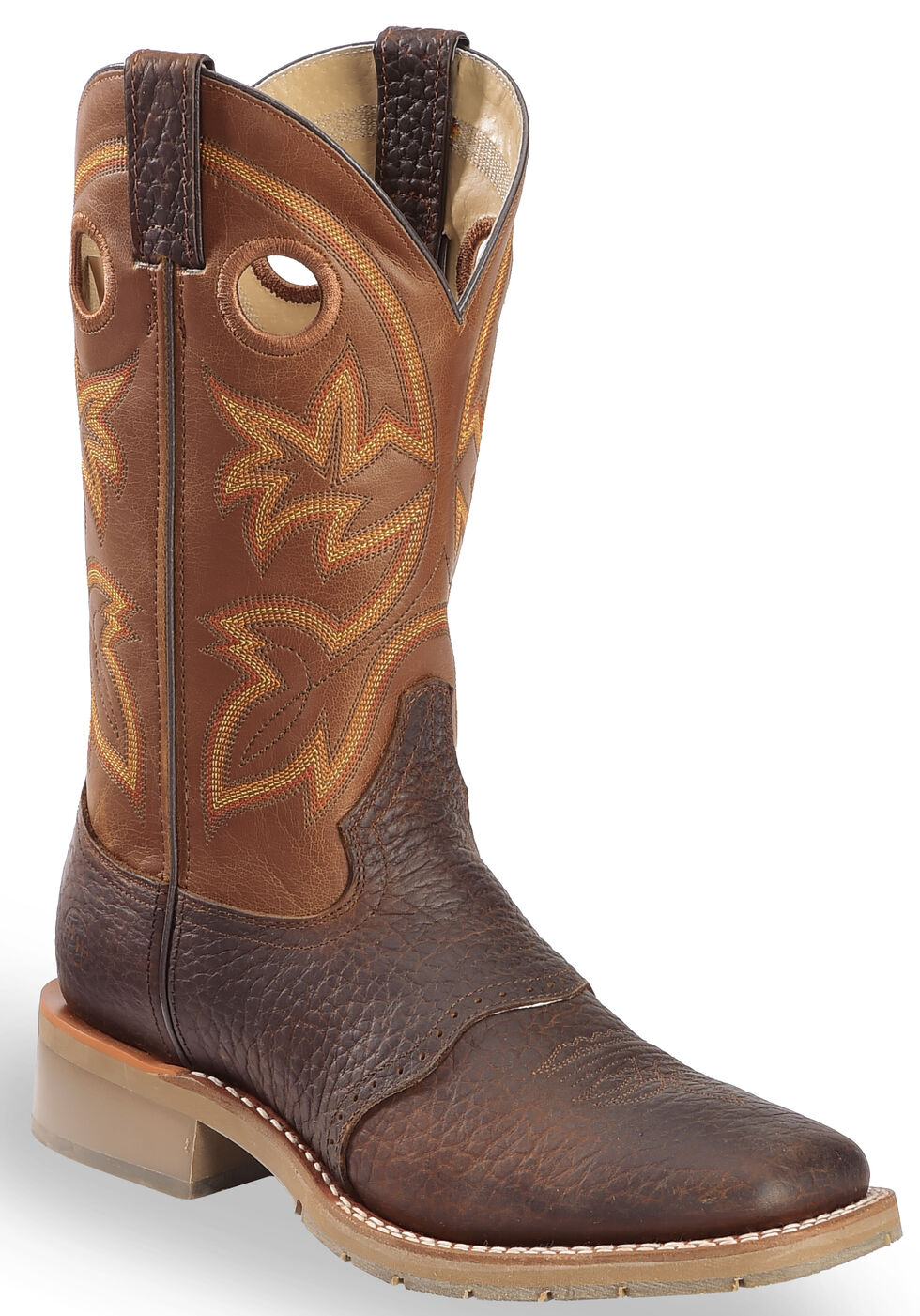 Double H Canyon Rust Saddle Vamp Western Work Boots - Square Toe, Rust, hi-res