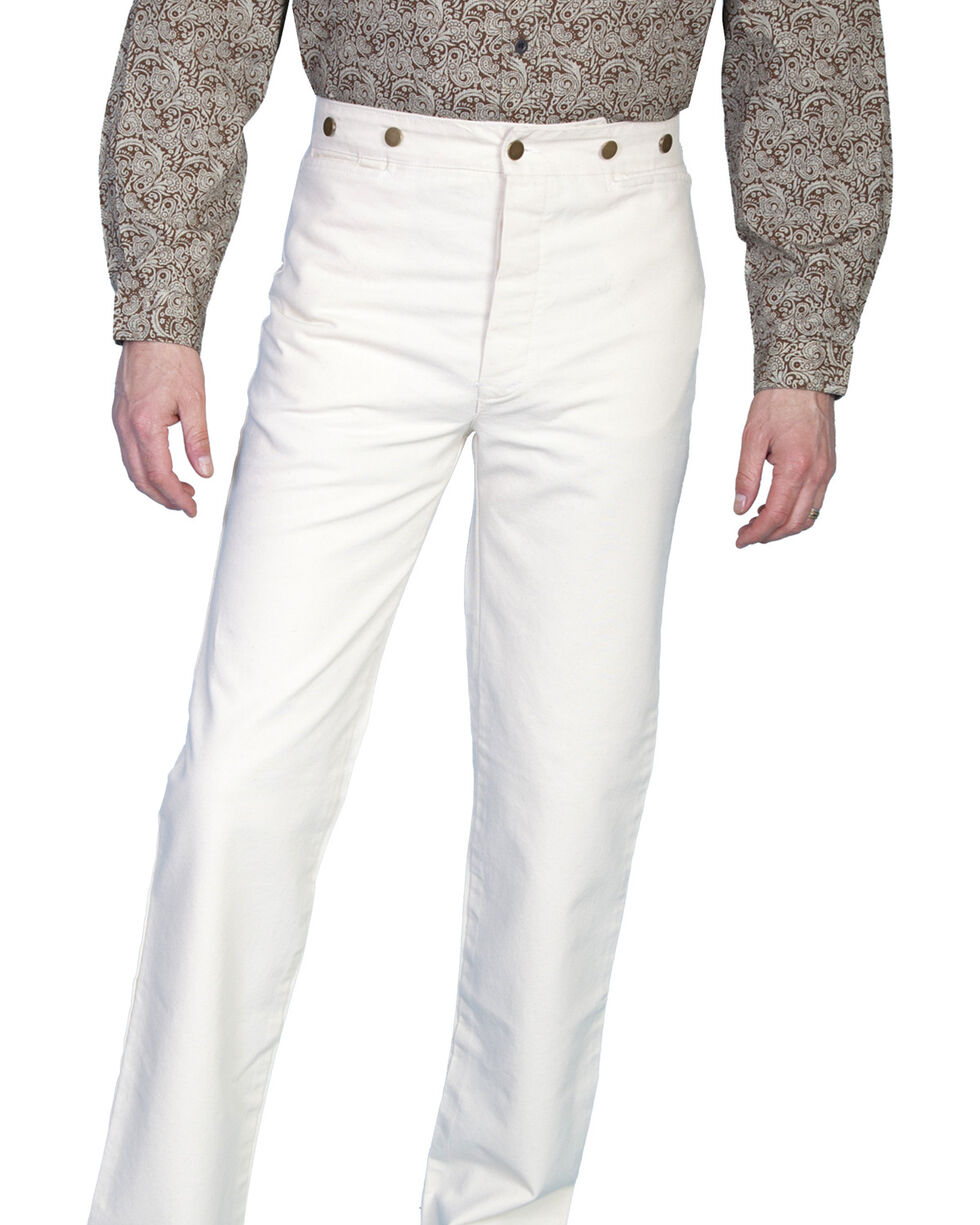 Rangewear by Scully Canvas Pants, Natural, hi-res