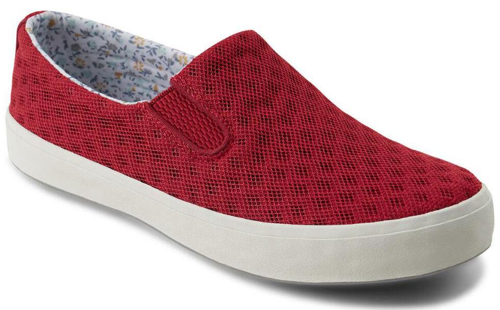 Eastland Women's Burgundy Breezy Slip-On Sneakers , , hi-res