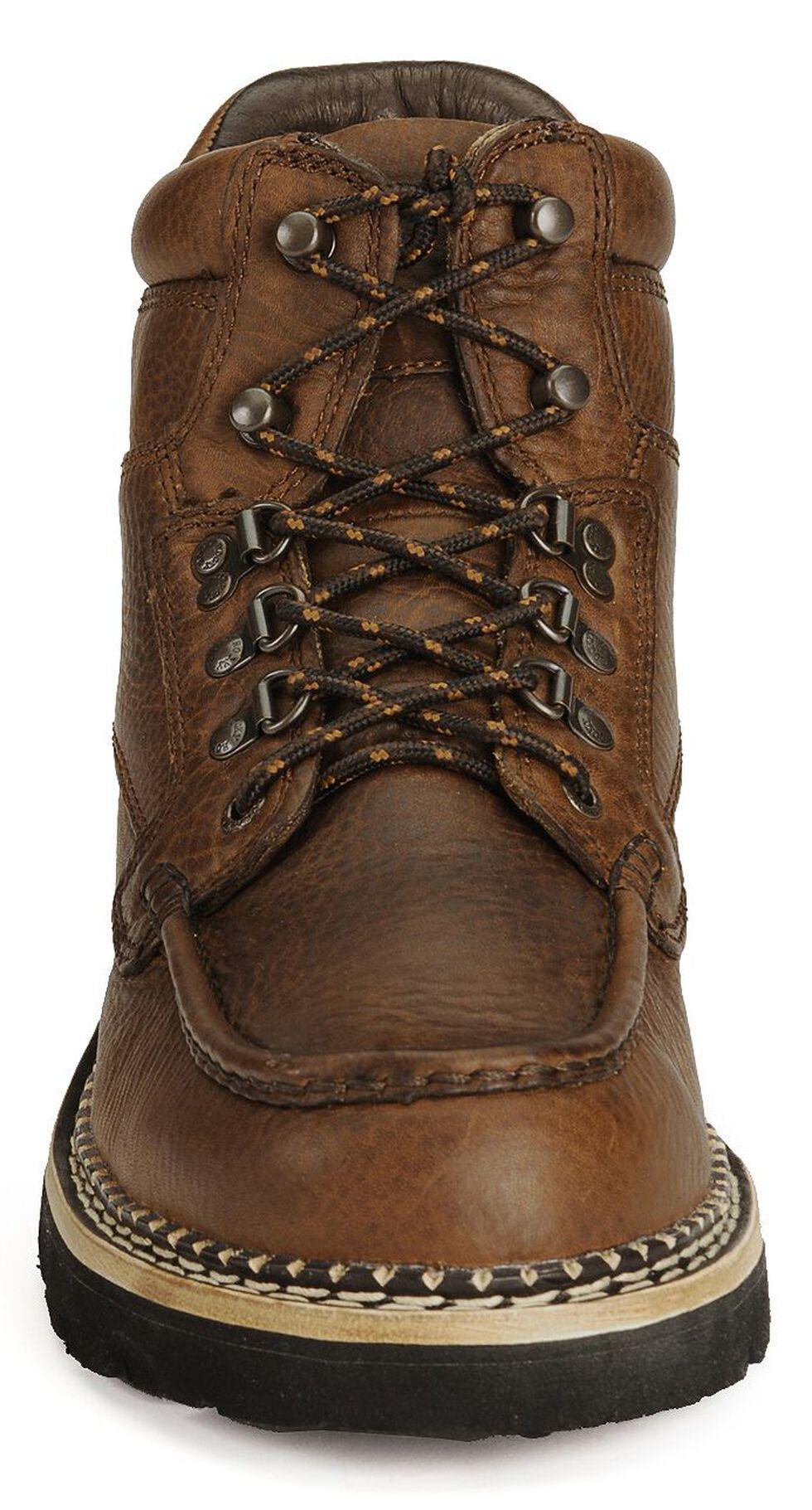 Rocky Men's Western Cruiser Chukka Casual Boots, Dark Brown, hi-res