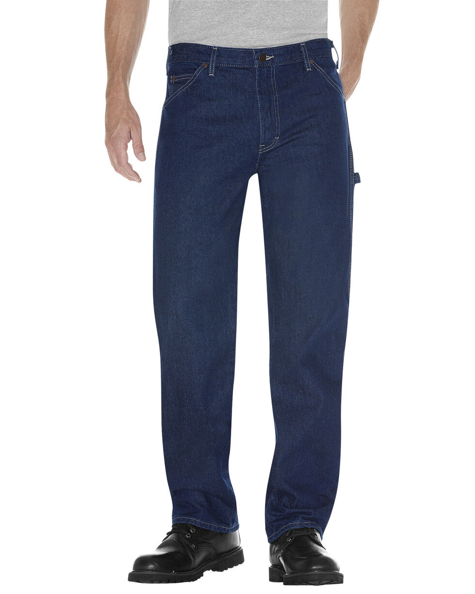 Dickies Relaxed Fit Carpenter Jeans, Rinsed, hi-res