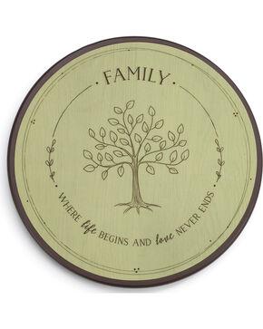 Demdaco Family Tree Lazy Susan , Light Green, hi-res