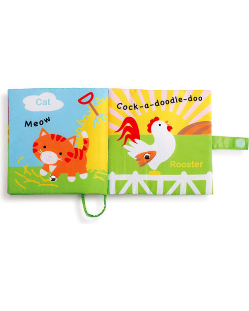 Barnyard Friends Book with Sound, Red, hi-res