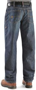 Ariat Flame Resistant Loose Fit Shale Jeans, Denim, hi-res