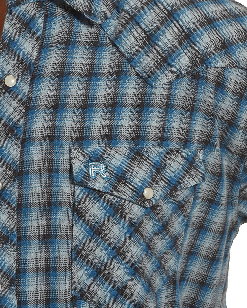 Resistol Men's Blue Pembroke Checkered Shirt , Blue, hi-res