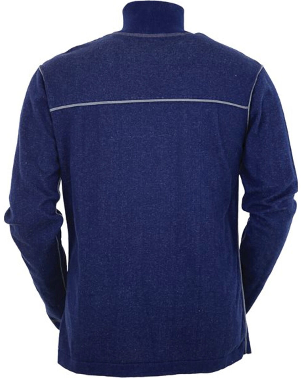 Outback Trading Co. Men's Navy Cooper Henley , Navy, hi-res
