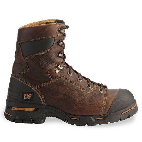 "Timberland Pro 8"" Endurance Boots - Steel Toe, Briar, hi-res"
