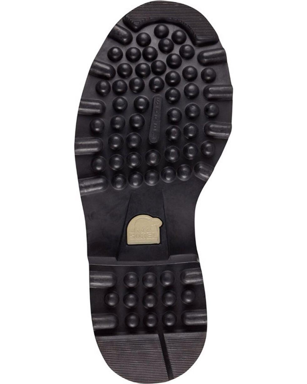 Sorel Men's Black Caribou Waterproof Boots - Round Toe , Black, hi-res