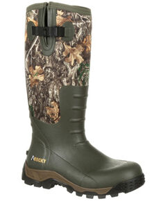 Rocky Men's Sport Pro Camo Waterproof Outdoor Boots - Round Toe, Multi, hi-res