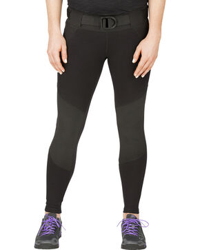 5.11 Tactical Women's Raven Range Tights , Black, hi-res
