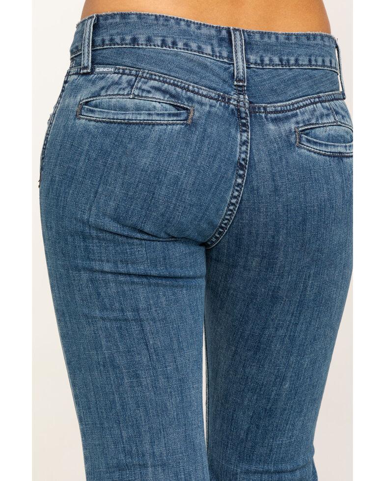 Cinch Women's Light Stone Lyden Jeans, Indigo, hi-res
