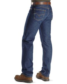 "Levi's Jeans 501® Original Shrink-to-Fit® - Big. Up to 44"" waist, Indigo, hi-res"