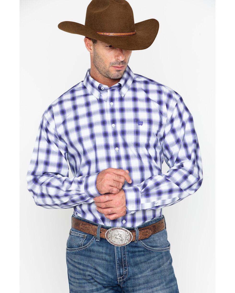 Cinch Men S Match Dad Plaid Long Sleeve Button Down Shirt Sheplers