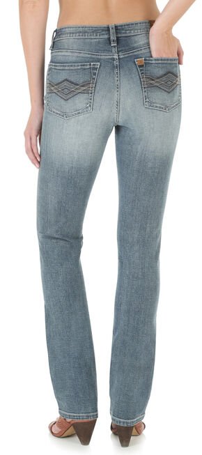 Wrangler Aura Women's Instantly Slimming Jeans , Denim, hi-res