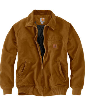 Carhartt Men's Pecan Brown Bankston Jacket - Big & Tall, Pecan, hi-res
