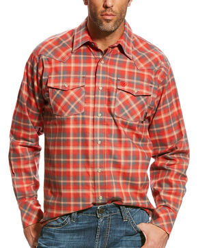 Ariat Men's FR Kennedy Retro Work Shirt, Multi, hi-res