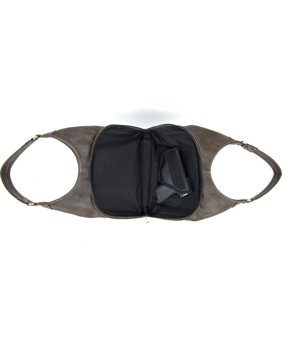 Savana Women's Fierce Tooled Design Conceal Carry Purse , , hi-res