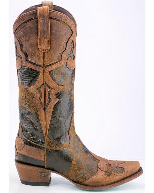 Lane Women's Masquerade Boots - Snip Toe , Brown, hi-res