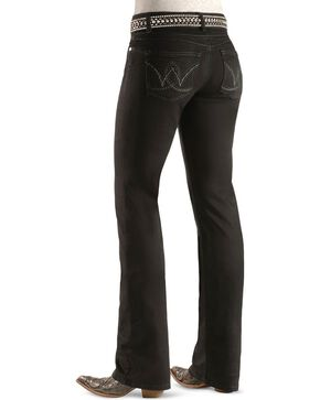 Wrangler Women's Retro Mae Booty Up Jeans, Black, hi-res