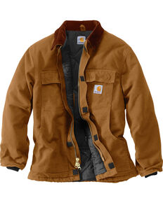 Carhartt Men's Arctic Lined Duck Work Coat, Carhartt Brown, hi-res