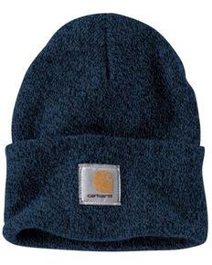 Carhartt Men's Blue Acrylic Watch Work Hat , Dark Blue, hi-res