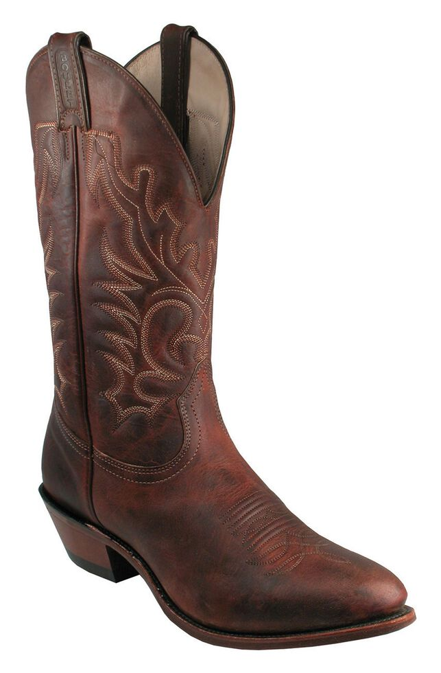 Boulet Cowboy Boots - Medium Toe, Copper, hi-res