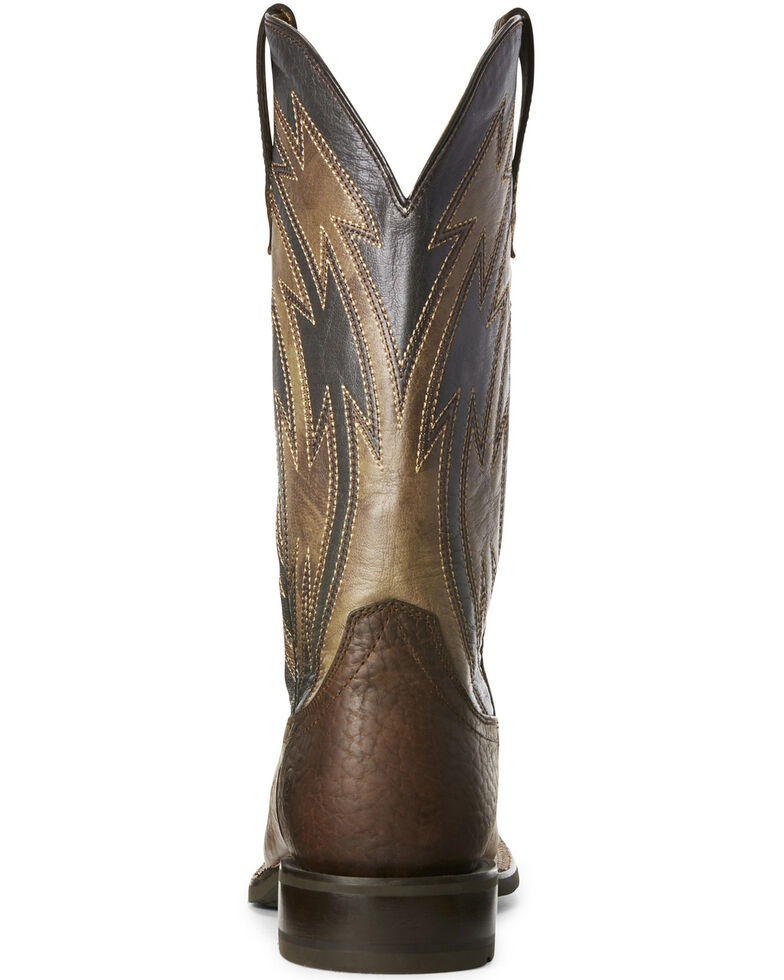 821b150a69b Ariat Men's Crossdraw Dusted Western Boots - Wide Square Toe