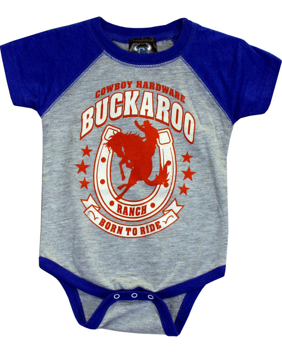 Cowboy Hardware Infant Boys' Buckaroo Romper  , Royal Blue, hi-res