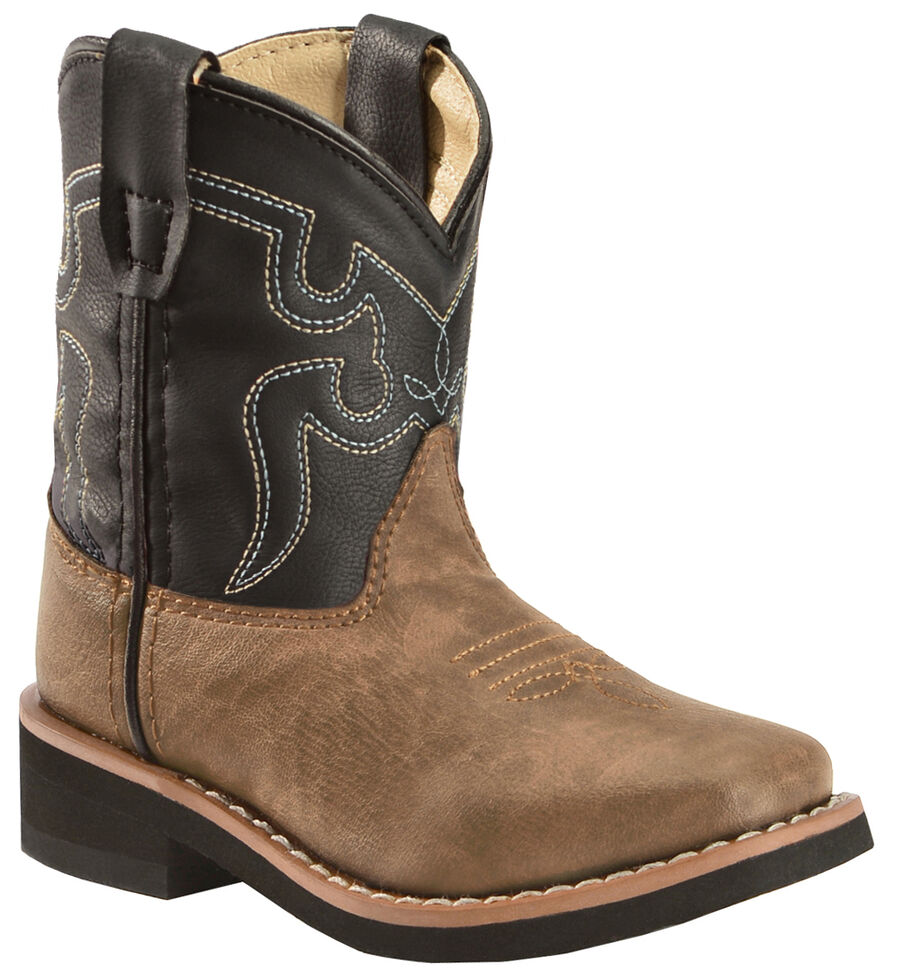 Swift Creek Toddlers Western Boots - Square Toe , , hi-res