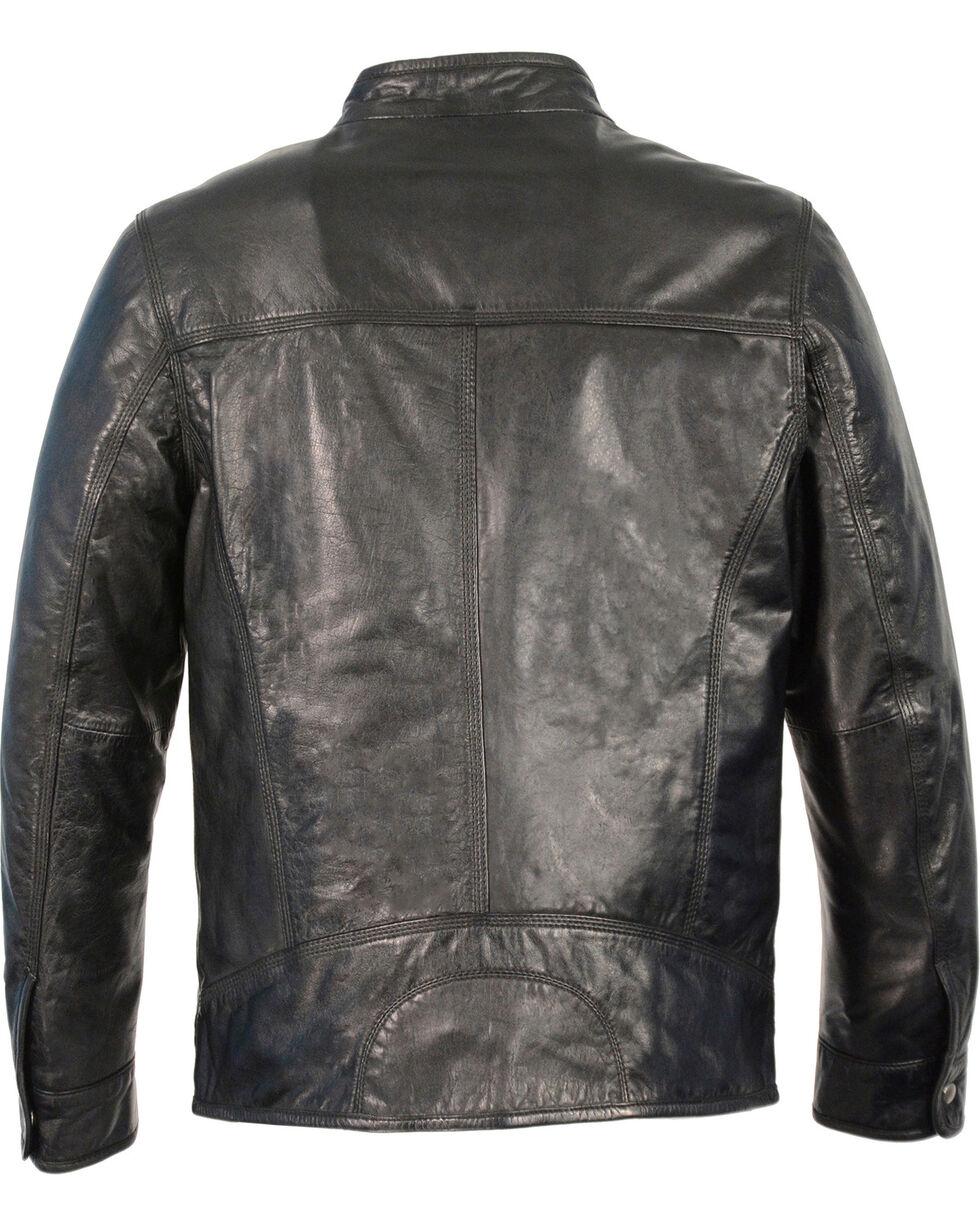 Milwaukee Leather Men's Zip Front Classic Moto Leather Jacket - 3X, , hi-res