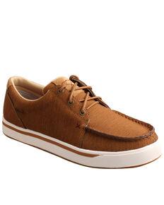 Twisted X Men's Kicks Casual Shoes - Moc Toe, Tan, hi-res