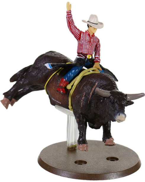 Big Country Toys Kid's Lane Frost & Red Rock Action Figurine, No Color, hi-res