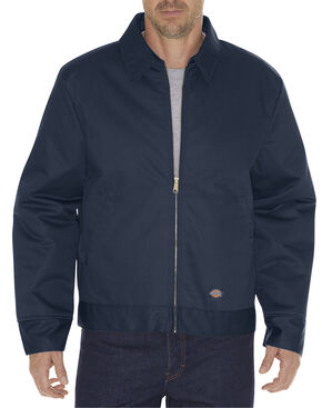 Dickies Men's Insulated Eisenhower Jacket - 6X, Navy, hi-res
