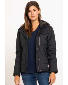 Carhartt Women's Black Utility Work Jacket , Black, hi-res
