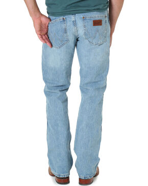 "Wrangler Jeans - Premium Patch Slim 77 - 38"" Tall Inseam, Blue Frost, hi-res"