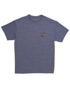 Wrangler Men's Team Roping T-Shirt, Blue, hi-res
