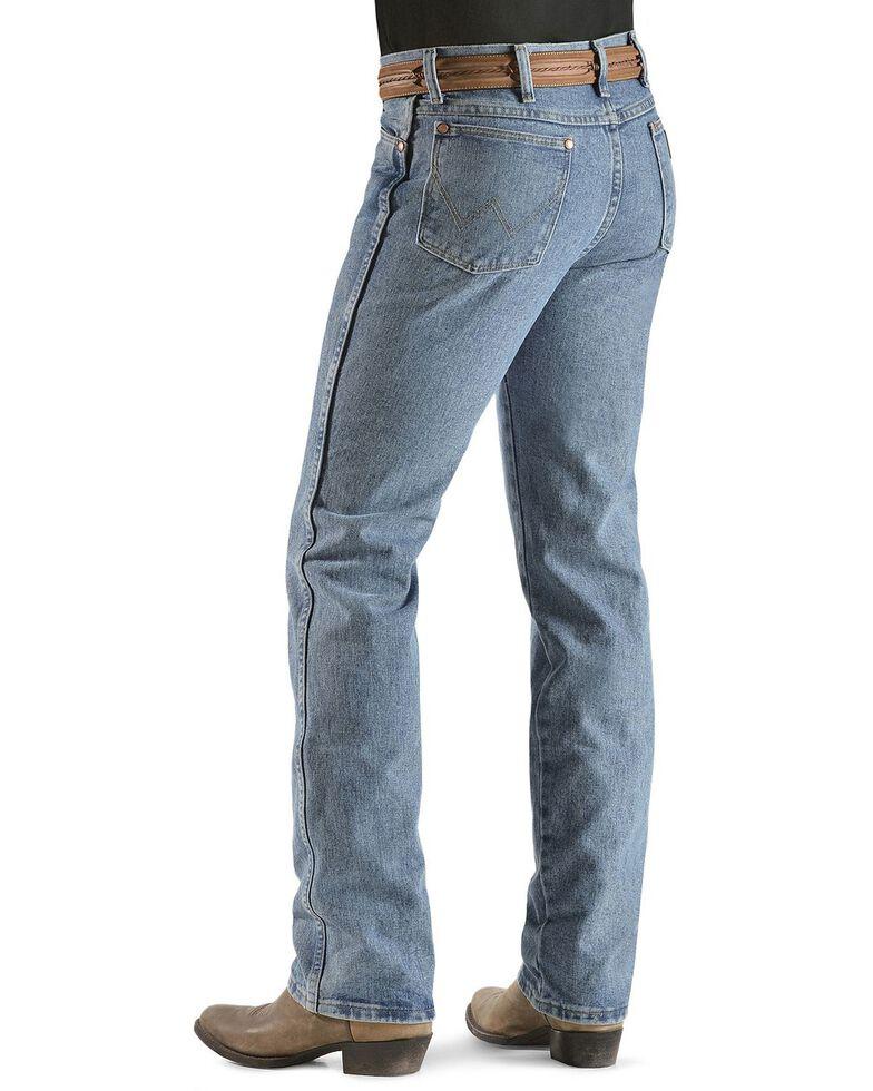 Wrangler Men's 936 Cowboy Cut Slim Fit Prewashed Jeans, Antique Blue, hi-res